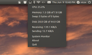 Applet para monitorizar el sistema, monitorizar sistema ubuntu 12.10