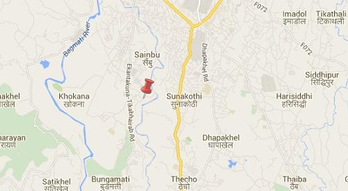 kathmandu earthquake epicenter