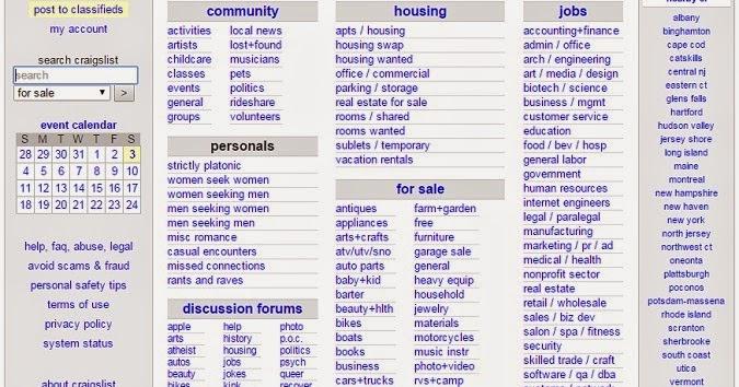 craigslist: boston personals, jobs, cars instead of craiglist boston