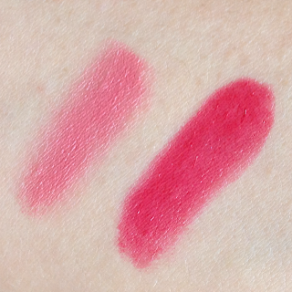 Estée Lauder Mad Men Collection swatches