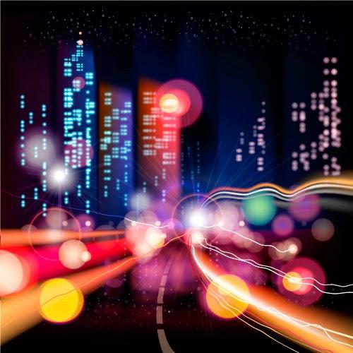 Ciudad nocturna - Vectorial