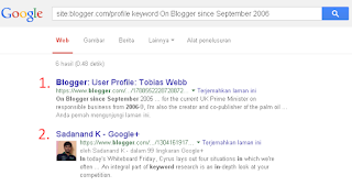 search google plus blog zombie profile