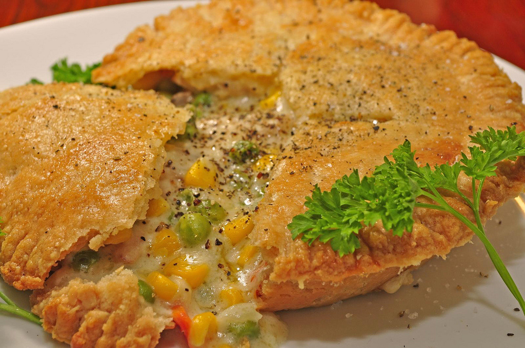 Good food and more turkey pot pie with cheesy homemade flaky crust this is a wonderful pot pie made with turkey and a simply to kill for cheesy pie crust this pot pie makes 4 mini pies with bottom and top crusts forumfinder Gallery