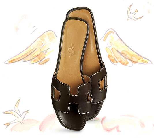 Model Hermes Oran Sandals  Sandals  Shoes  WOMEN