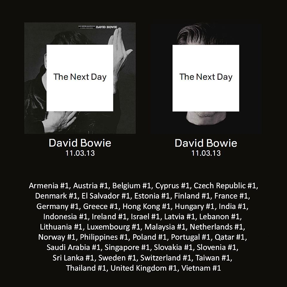 new LP The Next Day might  David Bowie The Next Day Extra