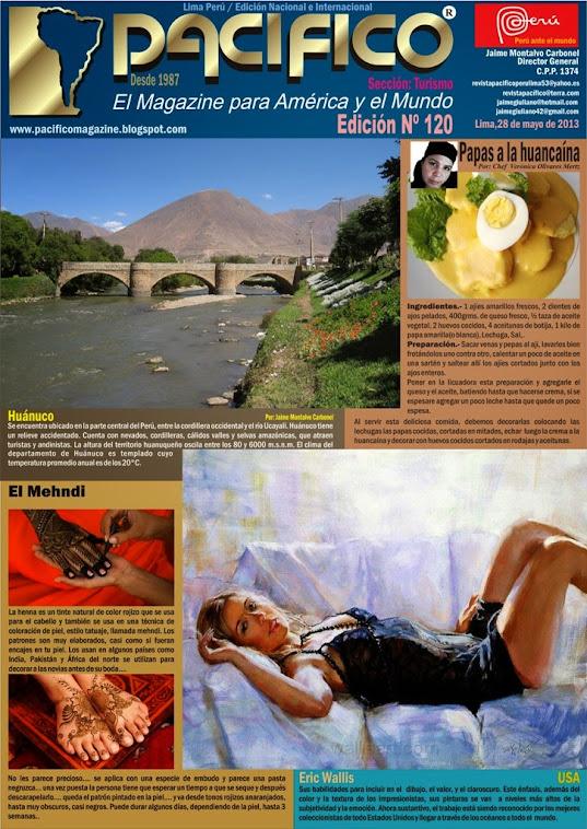 Revista Pacífico Nº 120 Turismo