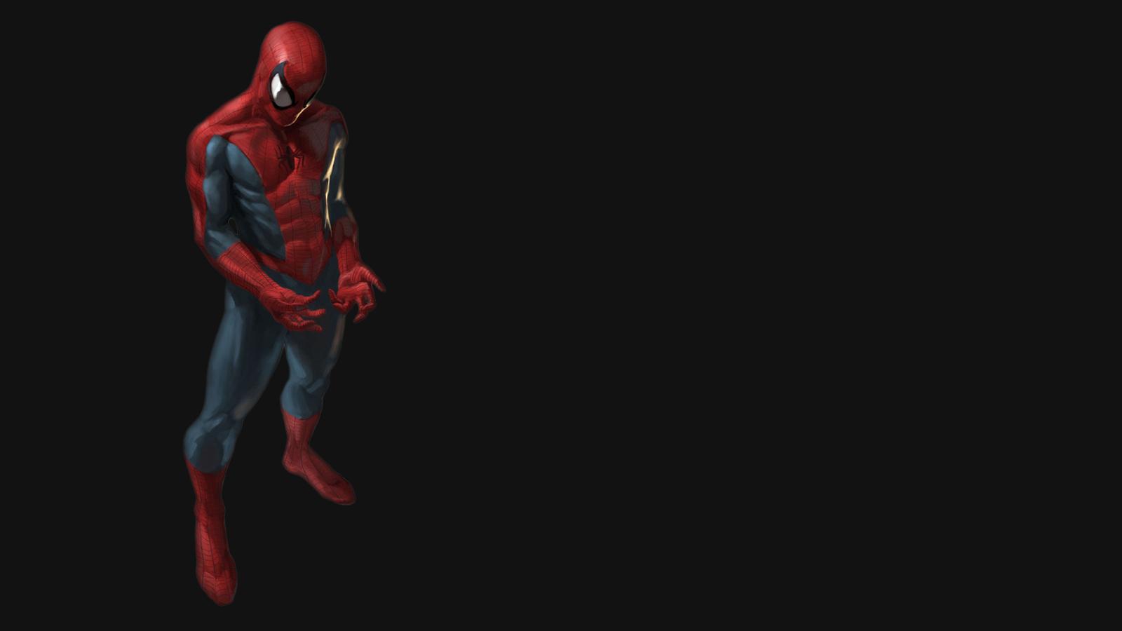 Black Spiderman Wallpaper Download HD