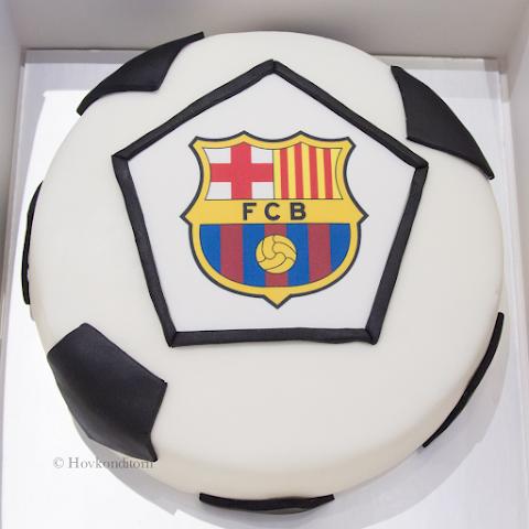FCB Birthday Cake