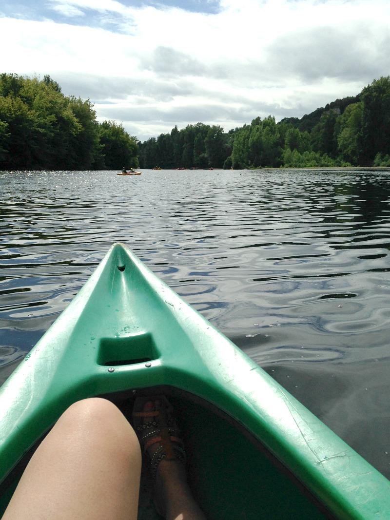 kayacking adventures on the Dordogne