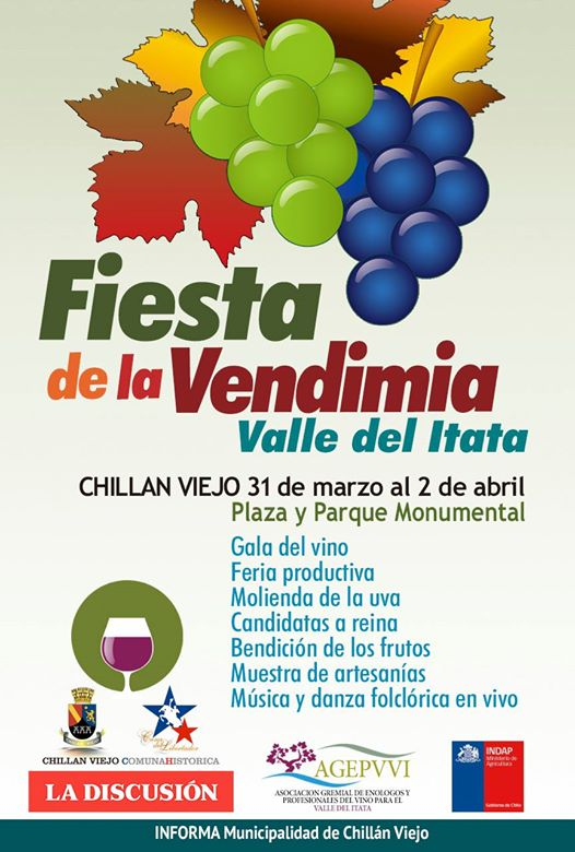 I Fiesta de la Vendimia del Valle del Itata en Chillán Viejo