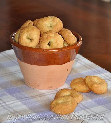biscottini all'olio d'oliva extravergine per dolcemente