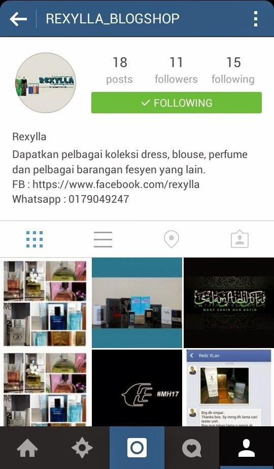 rexylla, instagram rexylla, rexylla_blogshop