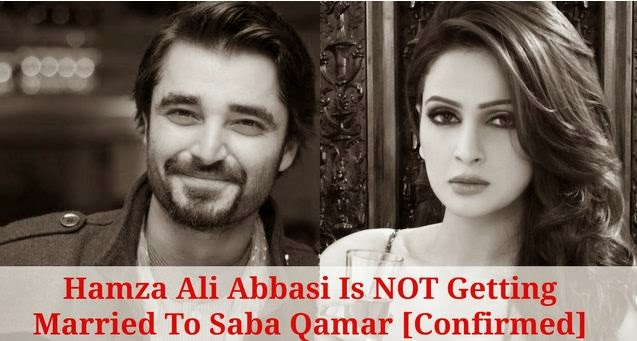 Hamza Ali Abbasi Not Married To Saba Qamar - Latest News, saba qamar marraige, hamza ali abbasi with saba qamar, lollywood actress, wedding,