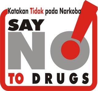 tidak untuk narkoba