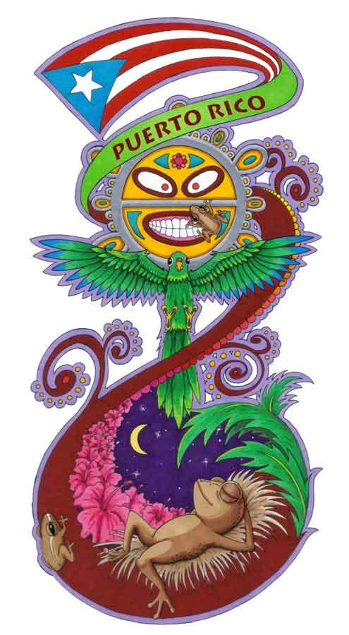 Coqui Jams The Art Of Daniel Ramirez Puerto Rico Tattoo