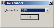 Hosts file editor to change the environments