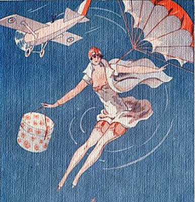 Female parachtist picture