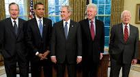 Ninguno de los cinco presidentes de los EEUU vivos apoya a Donald Trump