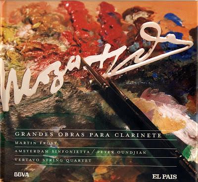 Mozart - Col. El País 250 Aniversario-(2006)-3-Grandes obras para clarinete-carátula frontal