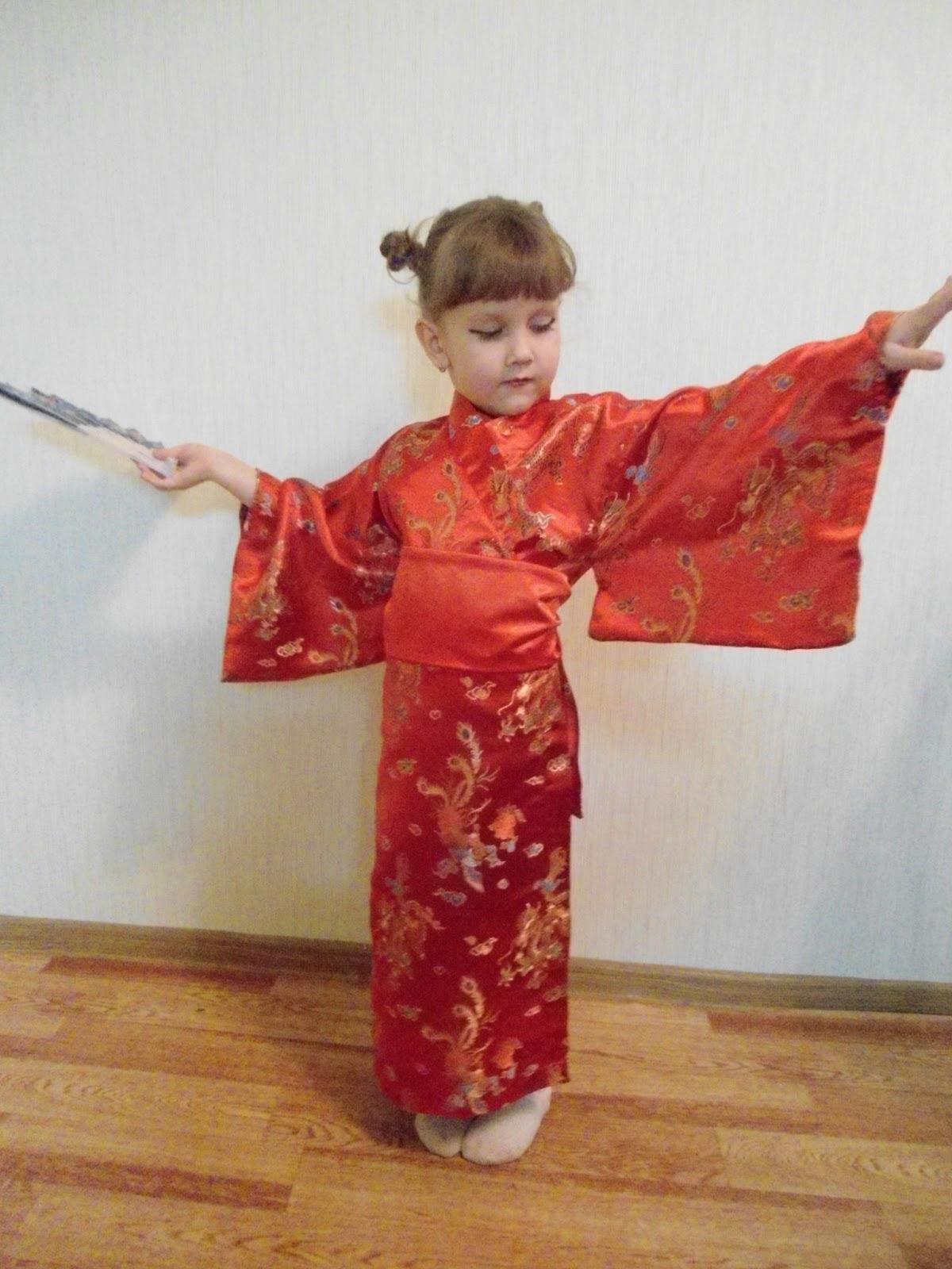 Как своими руками сделать японский костюм 78