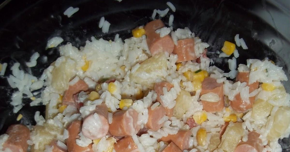 cook 39 n 39 eat salade de riz hawaienne. Black Bedroom Furniture Sets. Home Design Ideas