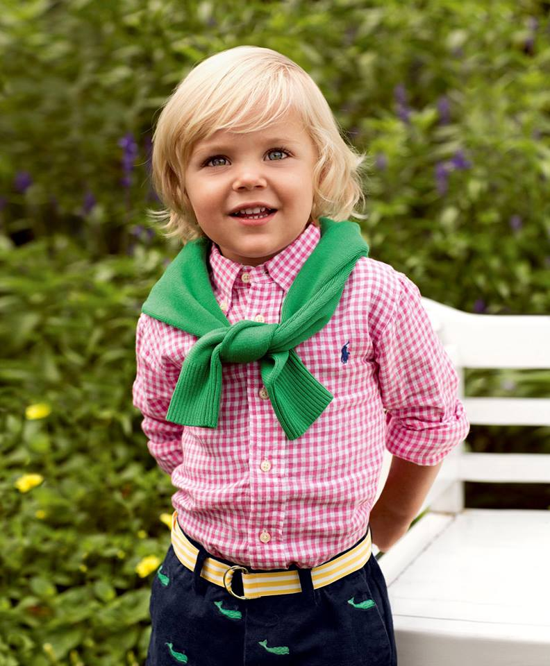 Glamour summer tips from ralph lauren for Ralph lauren kids