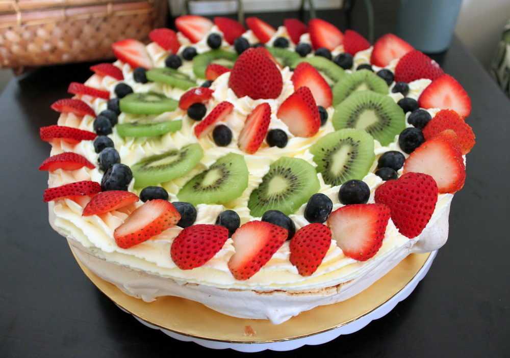 how to make pavlova recipe