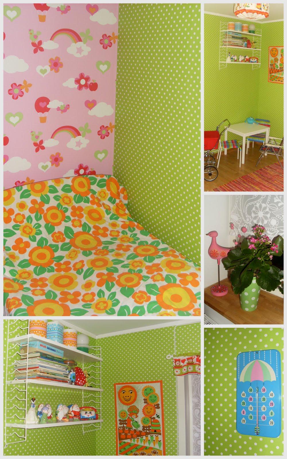 SaaX - Ögongodis från 60-70 talet: Färgglatt barnrum