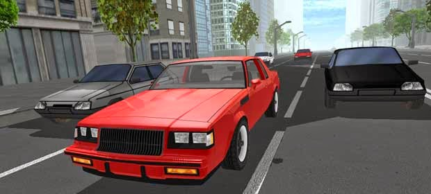 d Traffic Street Racing Muscle Hileli Apk indir   Download