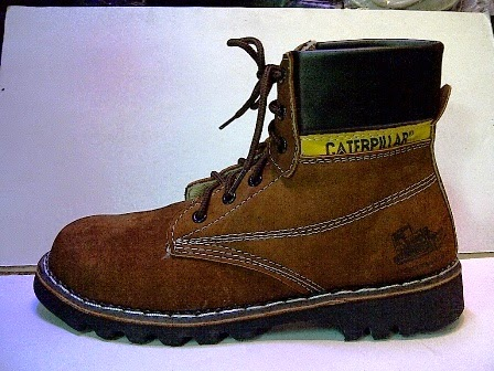 Caterpillar High Coklat,Sepatu Manggung,Sepatu Santai,Sepatu Jalan