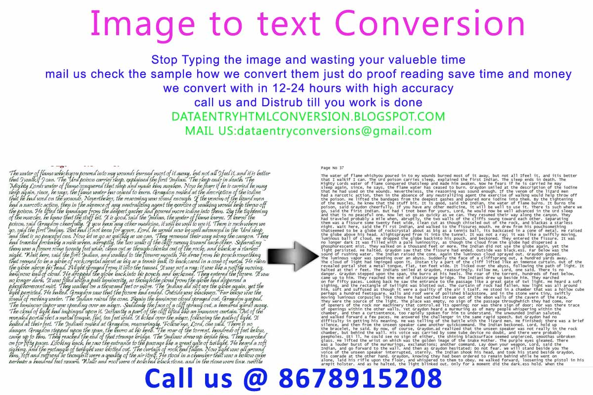 convert pdf image to text online