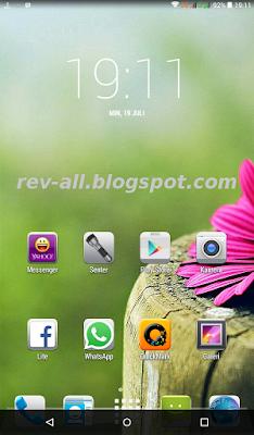 Contoh tampilan vertikal aplikasi Simple Control - aplikasi tambahan tombol navigasi untuk android tablet (rev-all.blogspot.com)