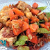 Orange-Peanut Tempeh Stir-Fry With Red Rice