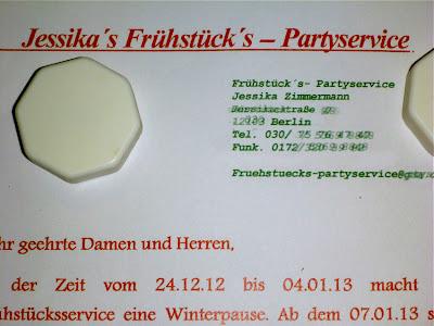 Jessika's Frühstück's —  Partyservice