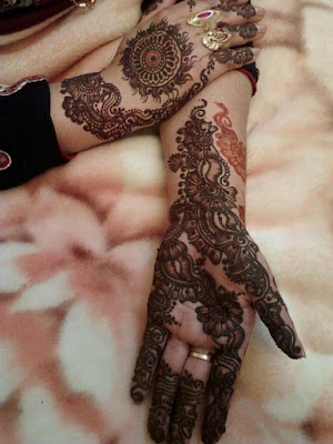 Latest Pakistani Bridal Mehndi Designs 2016