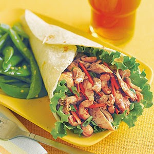 http://www.myrecipes.com/recipe/hoisin-chicken-wraps