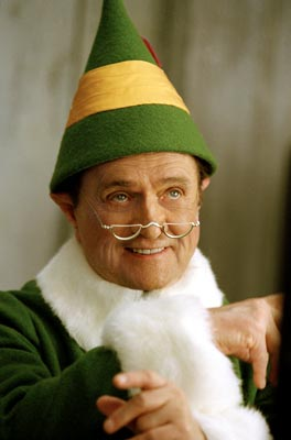 Bob Newhart as Papa Elf in Elf 2003
