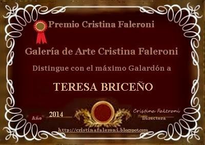 Teresa Briceño - Premio