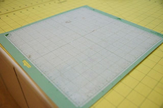 The Little Green Bean How To Make Your Cricut Mat Sticky
