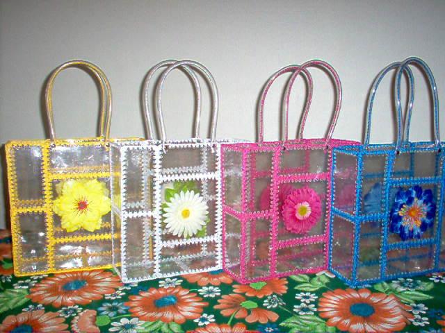 Artesanato Em Reciclagem Garrafa Pet ~ De Tudo Um Pouco Artesanatos com Garrafas P