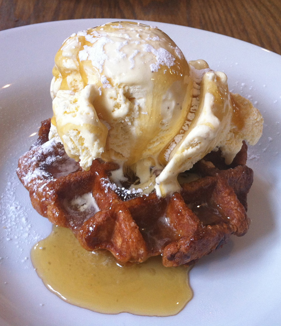 The Crown at Worthington - Waffles