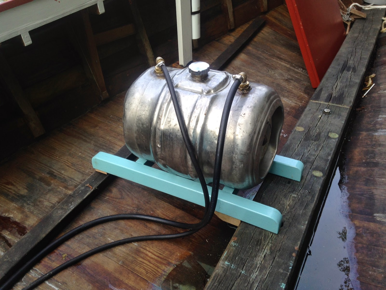 Building The Stella R A Chesapeake Crab Scrape Beer Keg