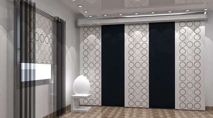 Marzua los paneles japoneses para separar ambientes - Paneles para separar espacios ...