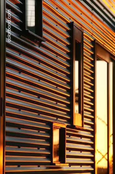 Arquitectura de casas viviendas suburbanas de madera y for Planchas de madera para paredes
