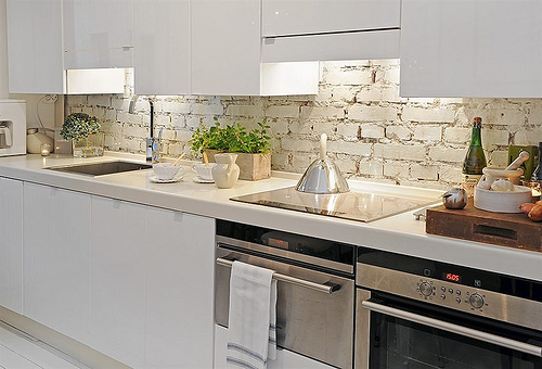 Brick Backsplash For Kitchen5