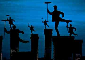 Mary Poppins Chimney Sweep Silhouette Images Design Context: Mary P...