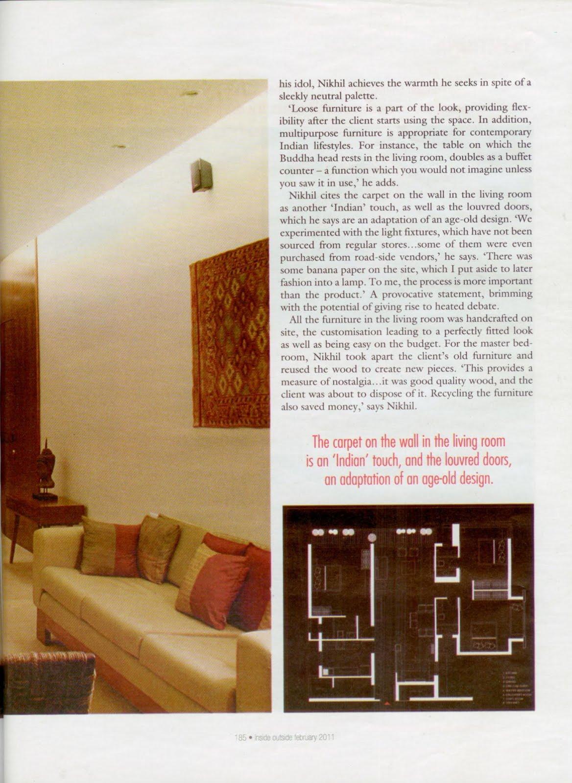 inside outside indian design magazine pdf