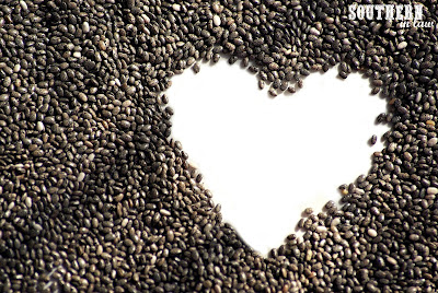What is healthy living all about? Chia Seed Heart