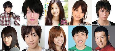 Official Kamen Rider Fourze Staff & Cast