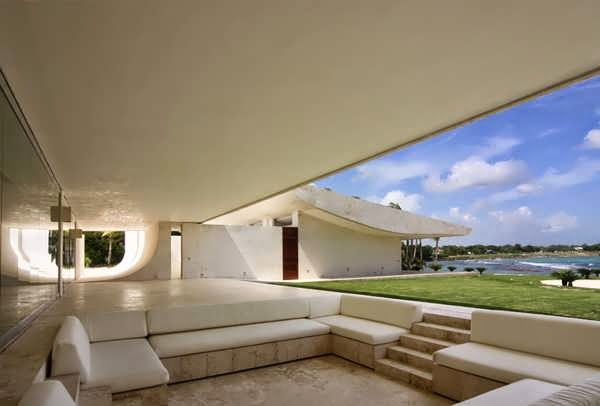 Caribbean House Design In The Dominican Republic With